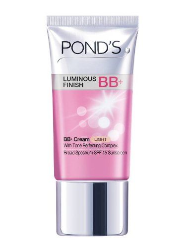Pond's Luminous Finish BB Plus Cream with SPF 15, Light Shade, 1.5 Ounce Pond's http://www.amazon.co.uk/dp/B00D6EDGYE/ref=cm_sw_r_pi_dp_rituub0J640NB