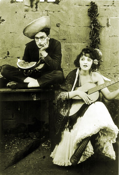 Harold Lloyd with Bebe Daniels
