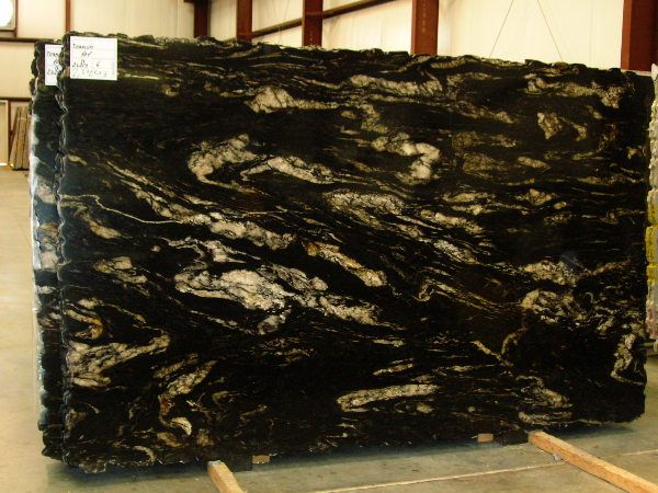 Black Cosmic Granite Slab 2662-24219 | Kitchen in 2019 ...