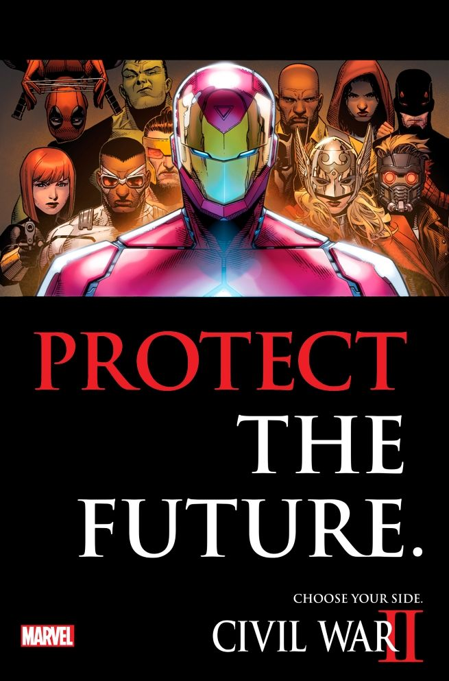 [atualizado] Marvel revela as equipes de Civil War II e teaser de Miles Morales / Homem-Aranha - Actions & Comics 2