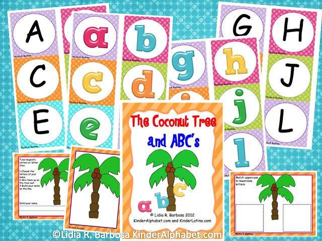 FREE ABC's center activity!