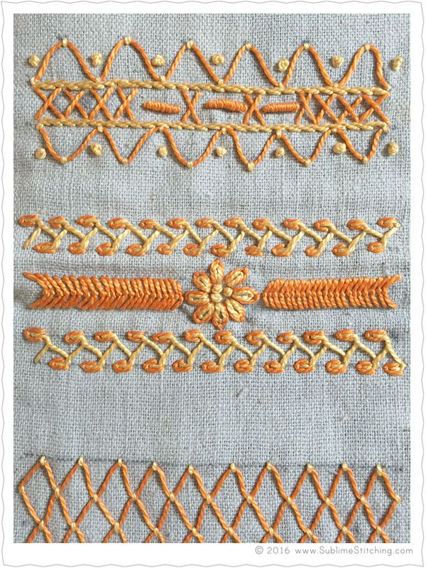 Best hand embroidery samplers images on pinterest