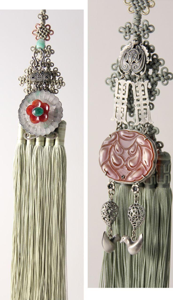 노리개...Korean, hanbok, Hanging Tassel | KIM MeHee hanbok couture: