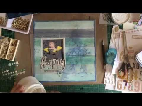 Process Video - 3 Layouts by Chrissi