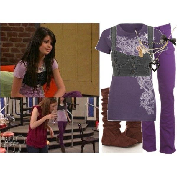 Selena Gomex as Alex Russo, created by jc10 on Polyvore