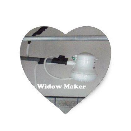 the widow maker heart sticker - travel photos wanderlust traveling pictures photo