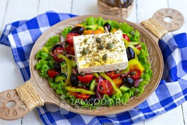 Фото классического «Греческого» салата