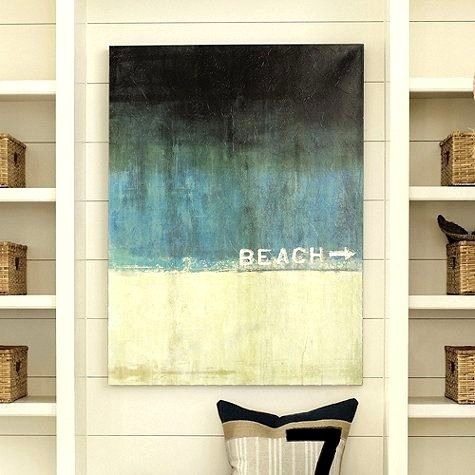 177 best Beach Art images on Pinterest | Sweet home, Acrylic art and ...
