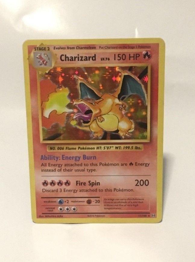 11//108 XY Evolutions Charizard Holo Rare NM Pokemon