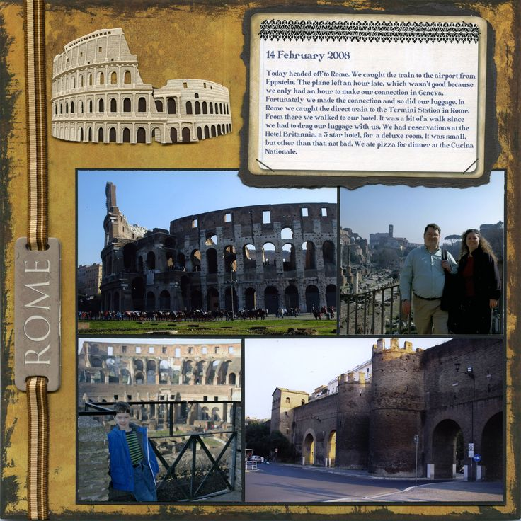 Rome - Overview - Scrapbook.com