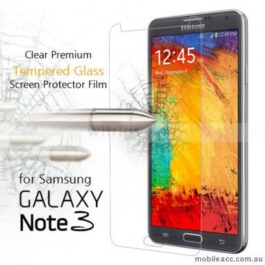 Premium Tempered Glass Screen Protector for Samsung Galaxy Note 3 only $9.95  http://www.mobileacc.com.au/Premium-Tempered-Glass-Screen-Protector-for-Samsung-Galaxy-Note-3