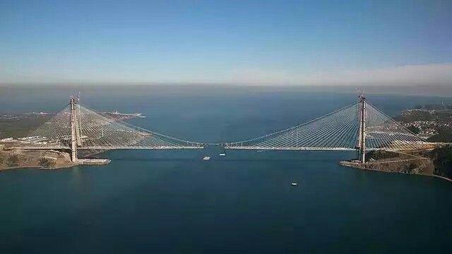 3.Köprü - İki yakanın kavuşmasına 55 metre kaldı