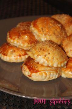 Feuilletés au poulet et poivron grillé - Mille et une saveurs