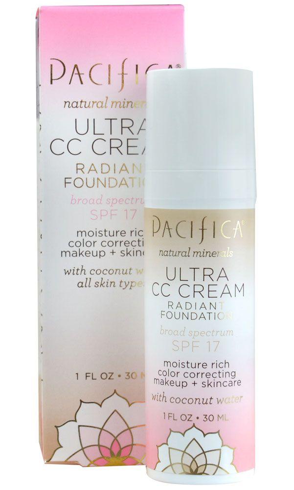 Pacifica Ultra CC Cream Radiant Foundation - Warm-Light