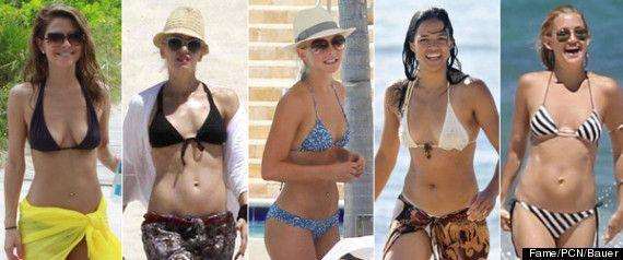 Women Celebrity Bodies Over 40 | Best Celebrity Bikini Bodies Of 2012: Stars Hit The Beach (PHOTOS)
