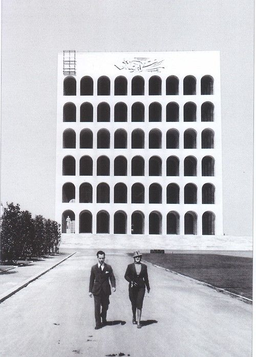 Giovanni Guerrini, Ernesto Bruno La Padula and Mario Romano | Palazzo della Civiltà Italiana, Roma