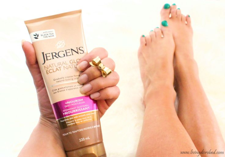 Jergens Natural Glow Sunless Tanner