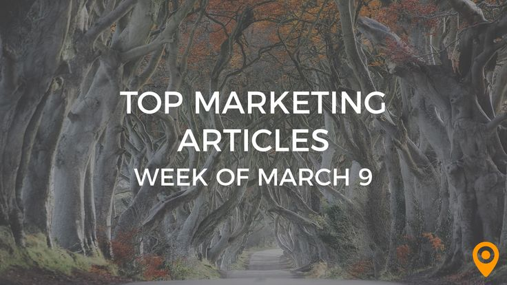 Ashley Kimler's article made UpCity's Top Marketing Articles list for the second time on March 9, 2018.