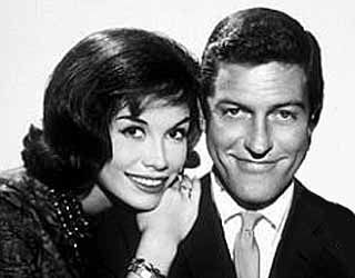The Dick Van Dyke Show (1961-1966)  Starred Dick Van Dyke and the gorgeous Mary Tyler Moore