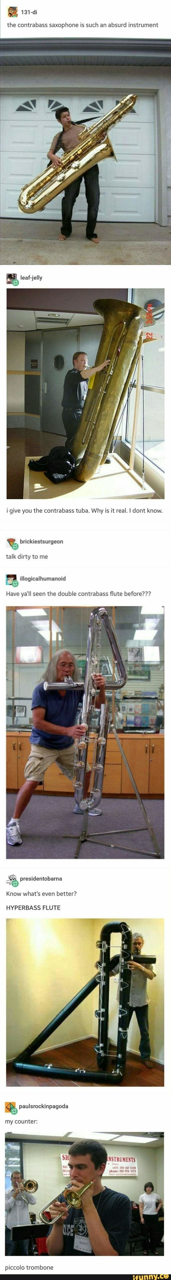 funny instruments