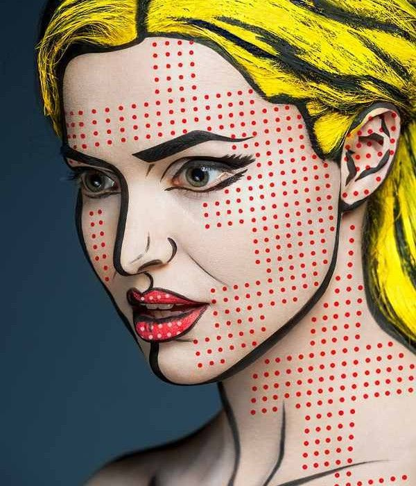 pop art make up - Google keresés