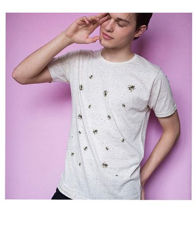 UltraTee Speckled t-shirt Bee