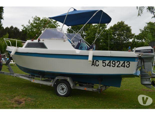 bateau avec remorque Audenge - 33980 - Bateaux à moteur occasion - Vivastreet