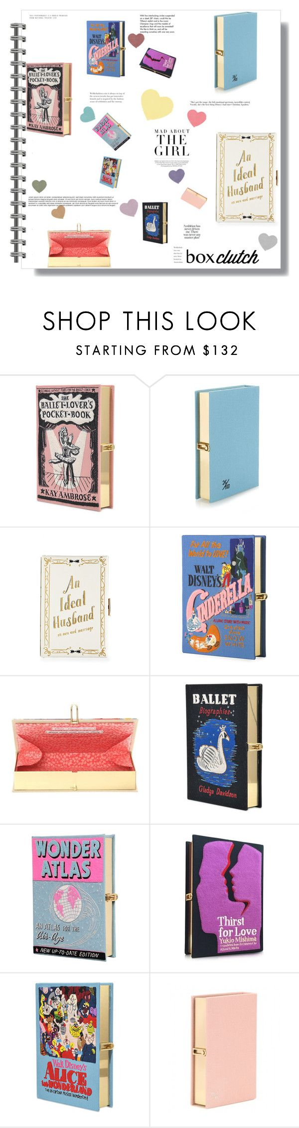 """""""#173 - Pretty Box Clutches"""" by intothenight27 ❤ liked on Polyvore featuring Olympia Le-Tan, Kershaw, Tiffany & Co., women's clothing, women's fashion, women, female, woman, misses and juniors"""