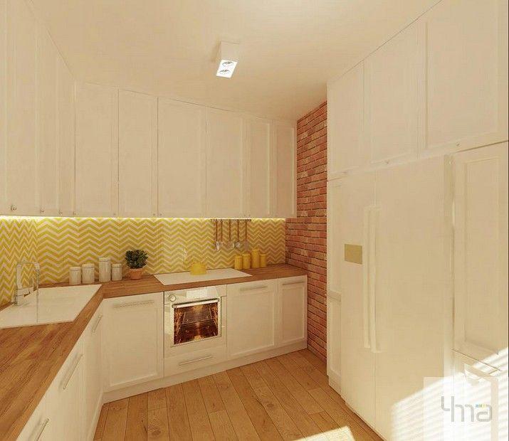 biała kuchnia - white kitechen #wnętrze #mieszkanie  #interiors  #architektura #homedecor #interiordesign | beautiful homes