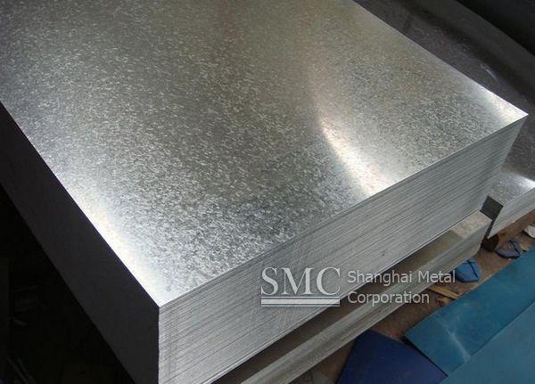 Shanghai Metal Corporation is an international supplier for hot dip galvanized steel sheet. Check it out http://www.shanghaimetal.com/Hot_Dip_Galvanized_Steel_Sheet--pds256.html
