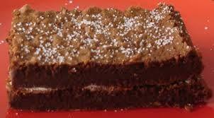 Brownie de Chocolate Adaptação da receita de José Avillez Adaptação da receita de José Avillez . Ingredientes: 200g chocolate preto 100g manteiga sem sal 20g açúcar 3 ovos XL 1 colher de sopa de farinha açúcar em pó q.b. Preparação: 1. Derreta o chocolate e a manteiga em banho-maria (mexer bem por forma a obter um creme uniforme). Bata as gemas com o açúcar. Envolva o chocolate derretido nas gemas batidas, junte a farinha, e reserve. 2. Bata as claras em castelo e envolva-as suavemente no…