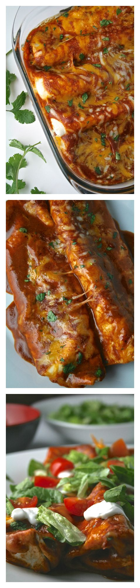 Cheese Enchiladas with Chili Gravy | Chili, The o'jays and ...