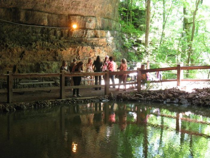 You'll Never Guess What's Hiding Inside This Magical Missouri Cave   Salpeter Cave is just 200 yards from the tasting room.