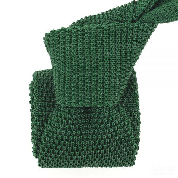 Cravate Tricot, Vert green de Golf - Cravate-Avenue.com #cravate #tricot #cravate_tricot #mode #homme #soie #italie #tonyandpaul #vert