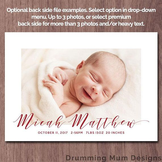 53 best Baby Birth Announcement images – Birth Announcement Examples