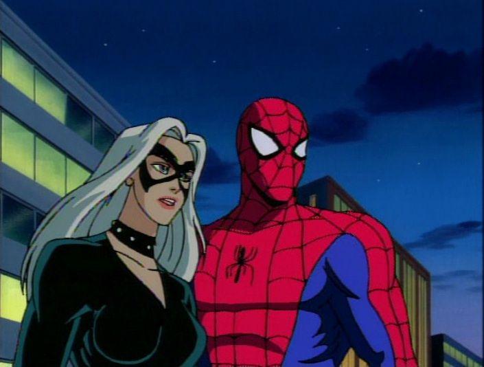Spider-Man the Animated Series | Black cat marvel ...