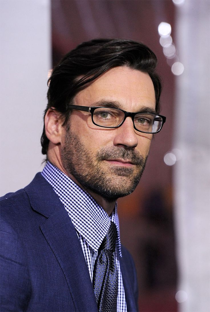Jon Hamm.  Love men with glasses,  makes him even hotter!!!