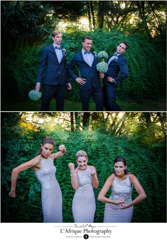 Aah look at this roles chancing of the groomsman and bridesmaids