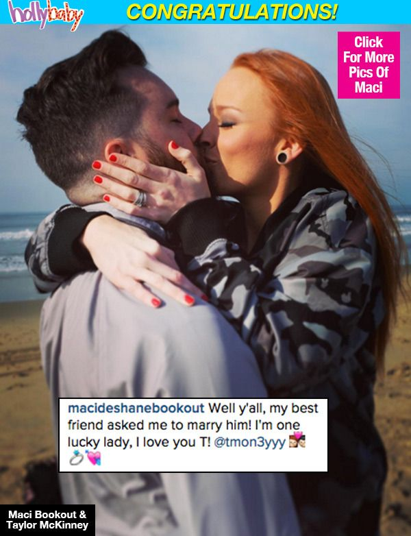 Maci Bookout Engaged: 'Teen Mom OG' Star & Taylor McKinney Getting Married