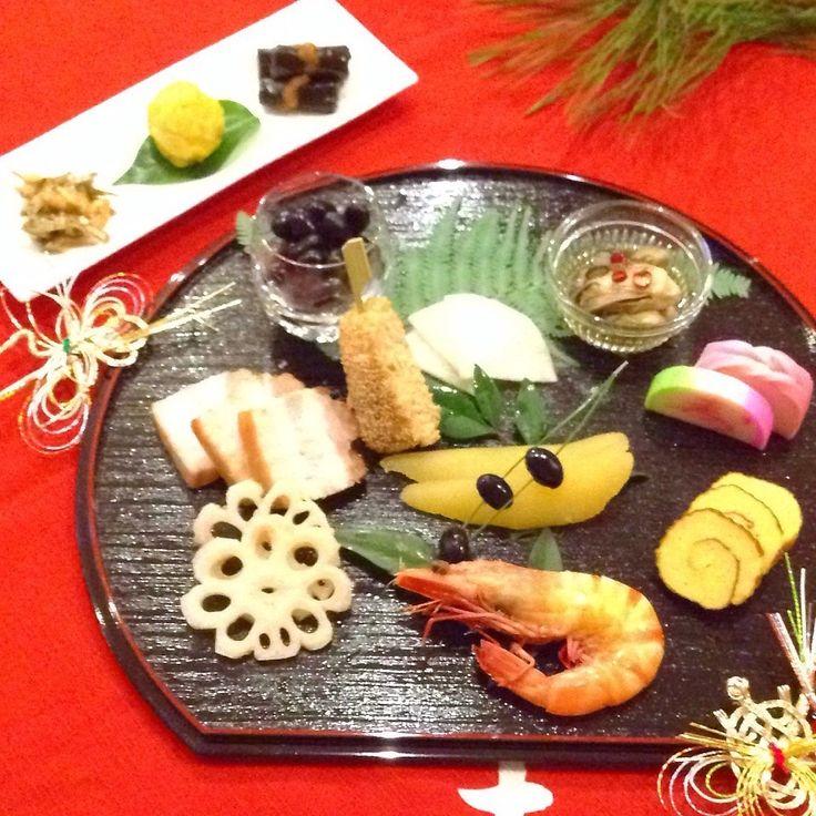 旦那さんと私のワンプレートおせち☆   ペコリ by Ameba - 手作り料理写真と簡単レシピでつながるコミュニティ -
