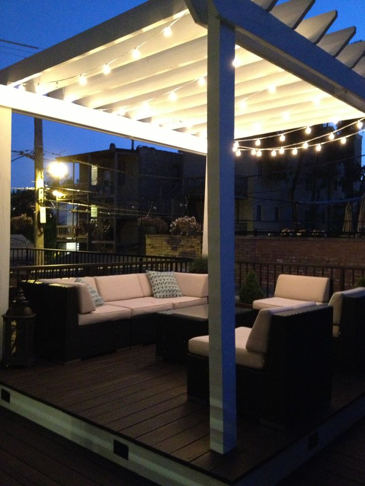 Use globe string lights to light up your pergola/patio! Patio Pinterest Globe String ...
