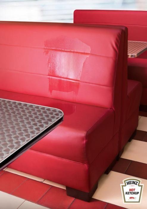 Heinz Ketchup Advertising - Hot Ketchup