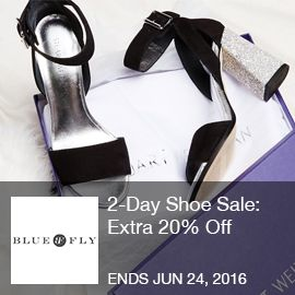 Blufly- 20% Off 2-Day Shoe Sale: Extra 20% Off Jimmy Choo, Saint Laurent, Tory  Burch, Adidas. Shop from 6/22 at 5:30 AM to 6/24 at 5:30 AM.