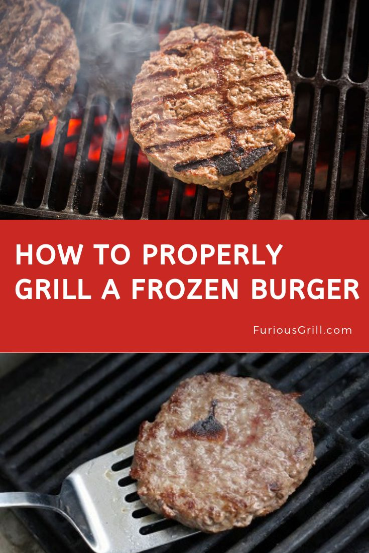 How to grill frozen burgers learn to make delicious