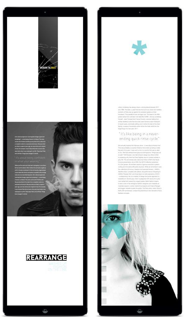 Dazed & Confused | Digital Publishing | Jordan Pollock. Ryan Allan
