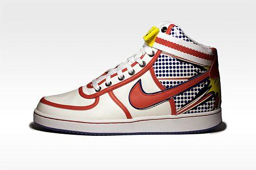 Lichtenstein Meets Nike ... ;-)