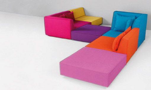 Canapés modulaires - Comment fonctionne le système de canapé | Cubit