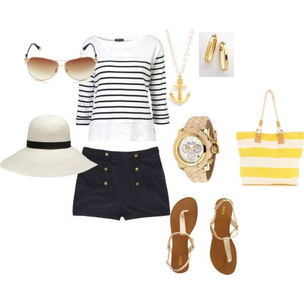 A day on the boat, created by julie-kristine-1 on PolyvoreFashion Outfit, Fashion Peg, Clothing, Perfect Nautical Skirts, Closets Envy, Pinterest Closets, Closets Clutter, Dreams Closets, Crafty Ideas