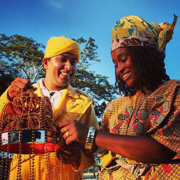 Surinam Hindi and creole culture