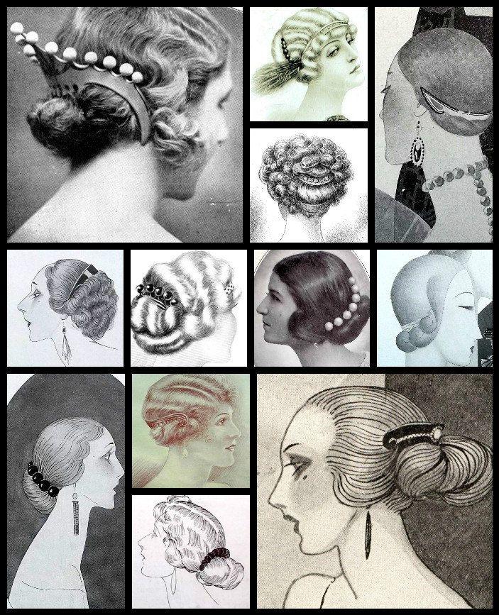 Art Deco hair comb faux tortoiseshell hair by ElrondsEmporium